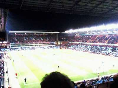 Villa Park, section: holte end upper, row: 5, seat: 212