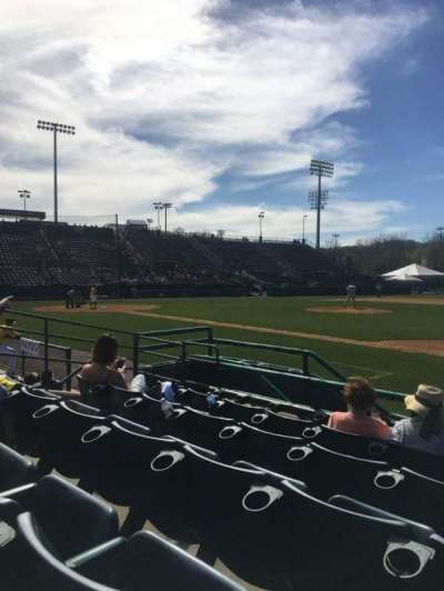 New Britain Stadium, section: 103, row: E, seat: 13