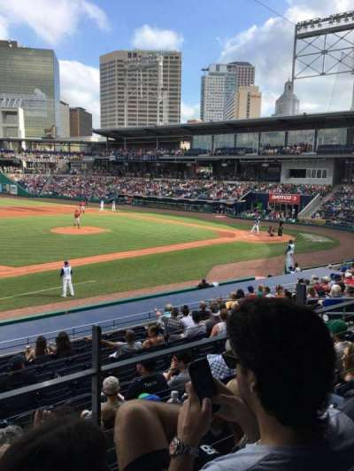 Dunkin' Donuts Park, section: 116, row: S, seat: 6