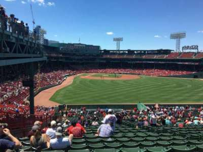 Fenway Park, section: Bleacher 43, row: 50, seat: 10