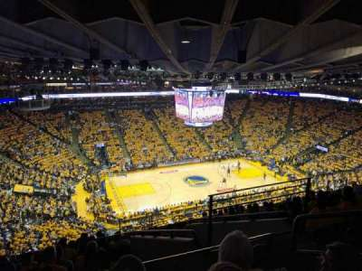 Oakland Arena section 219