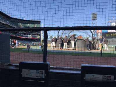 AT&T Park, section: DC113, row: CCC, seat: 1