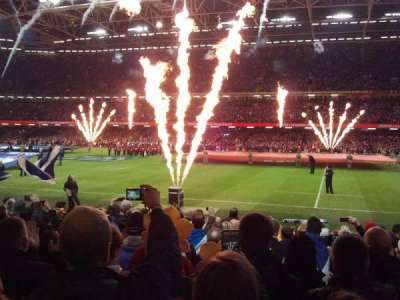 Principality Stadium section L28