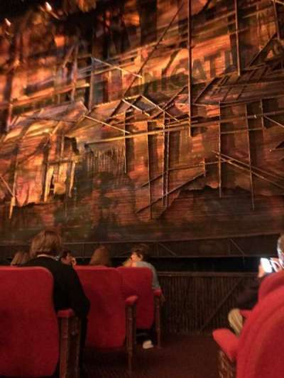 Broadway Theatre - 53rd Street, section: Orchestra, row: F, seat: 1