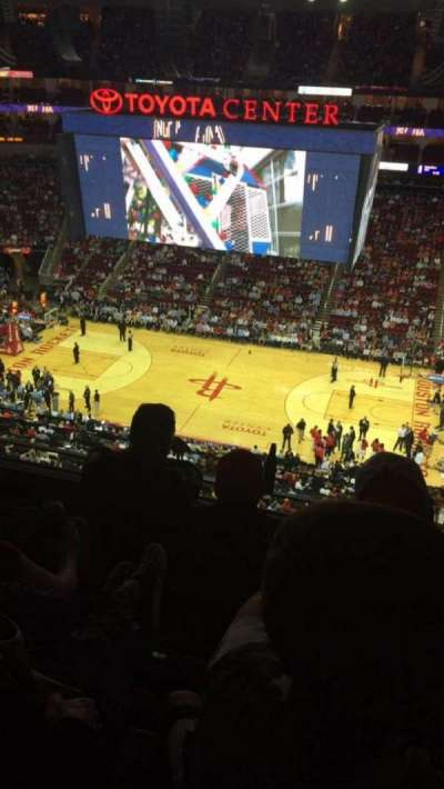 Toyota Center, section: 425, row: 5, seat: 11
