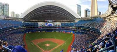 Rogers Centre, section: 524AL, row: 18, seat: 101-102