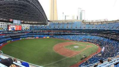 Rogers Centre, section: 535R, row: 5, seat: 9