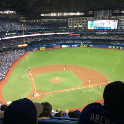 Rogers Centre, section: 521L, row: 16, seat: 105