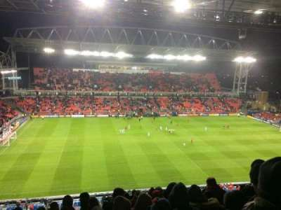BMO Field, section: 209, row: 17, seat: 3