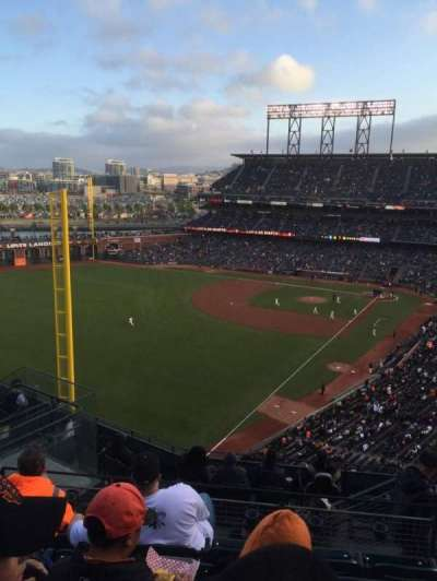 AT&T Park, section: 334, row: 5, seat: 6