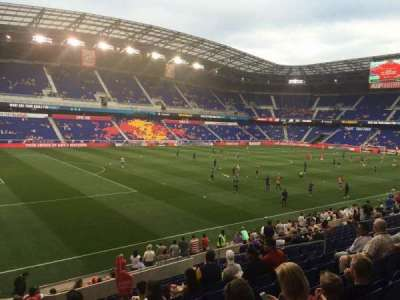 Red Bull Arena, section: 113, row: 16, seat: 17