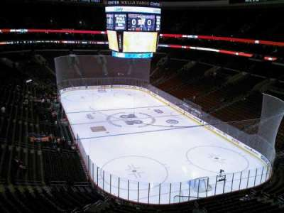 Wells Fargo Center section 205A