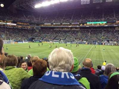 CenturyLink Field, section: 109, row: M, seat: 6