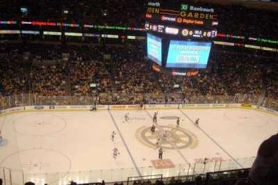 TD Garden, section: BAL 318, row: 11, seat: 8