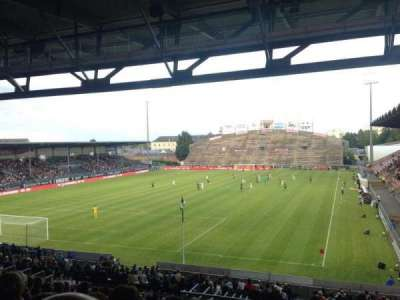 Stade Jean Bouin, section: Coubertin A, row: AD, seat: 15