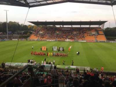 Stade Francis Le Basser, section: Loge, row: 4