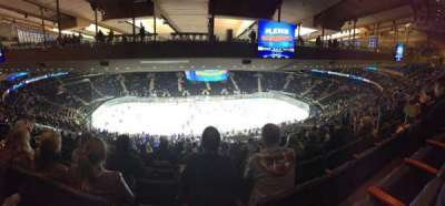 Madison Square Garden, section: 210, row: 20, seat: 13