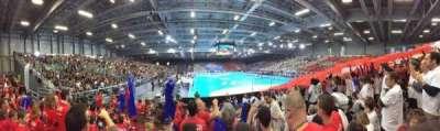 Hall XXL, section: Tribune Loire Atlantique, row: L, seat: 74