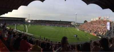 Stade Jean Bouin, section: Jean Bouin Laterale, row: S, seat: 2