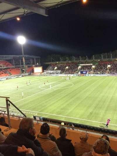 Stade Du Moustoir, section: Tribune J.Floch 16, row: ZA, seat: 180