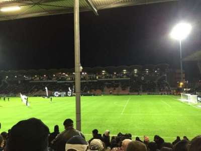 Stade Jean Bouin, section: St Leonard Laterale, row: Q, seat: 25