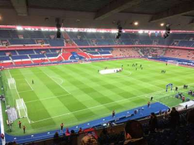 Parc Des Princes, section: Borelli 417, row: K, seat: 53