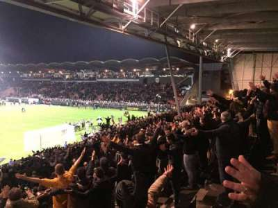 Stade Jean Bouin, section: Coubertin F, row: Y, seat: 144A