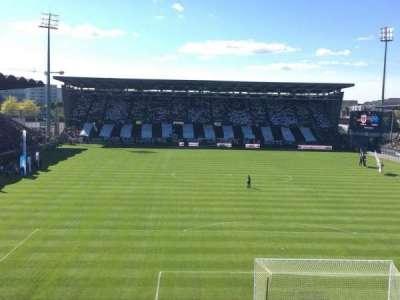 Stade Jean Bouin, section: Colombier, row: Haute