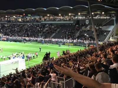 Stade Jean Bouin, section: Coubertin F, row: AC, seat: 145