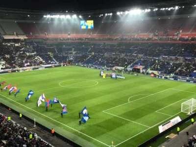 Parc Olympique Lyonnais, section: 401, row: 2, seat: 1