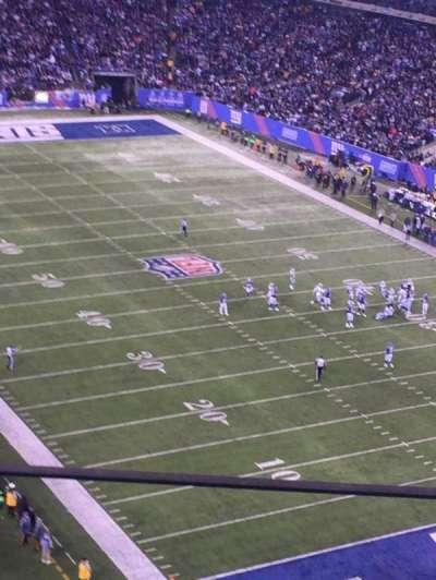 MetLife Stadium, section: 305, row: 7