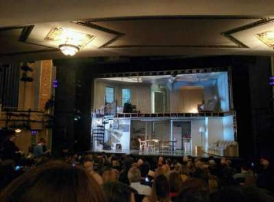 Gerald Schoenfeld Theatre, section: ORCHC, row: Q, seat: 112