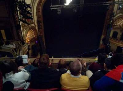 Palace Theatre (Broadway), section: Balcony Left, row: D, seat: 19