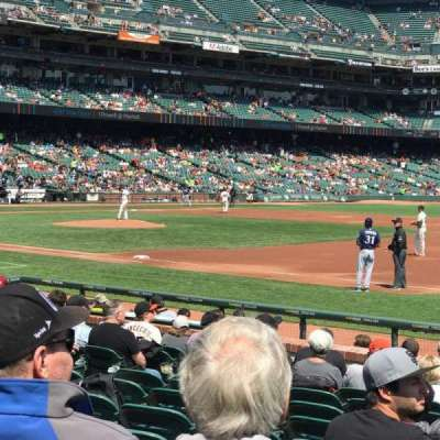 AT&T Park section Box 105