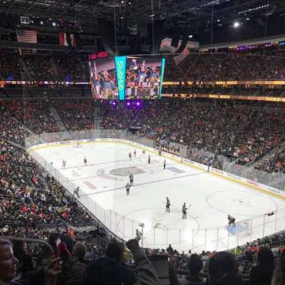 T-Mobile Arena, section: 118, row: F, seat: 7