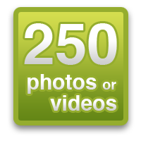 250 photos or videos