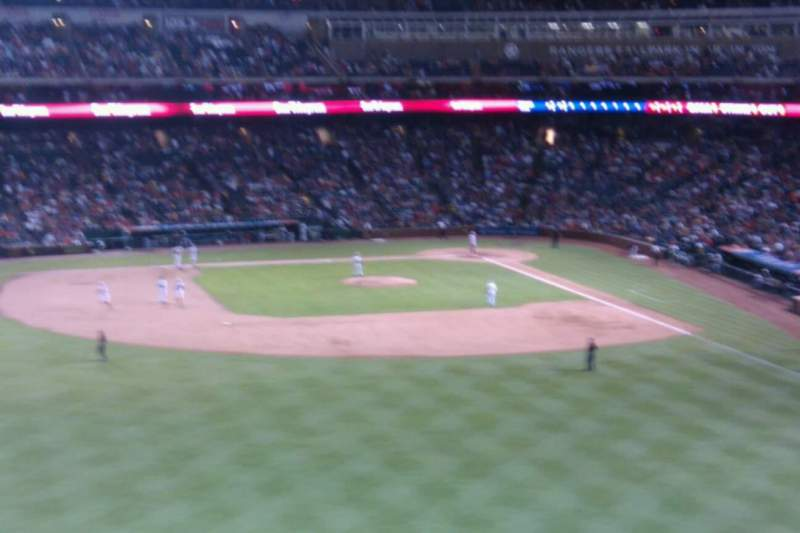 Seating view for Globe Life Park in Arlington Section 3