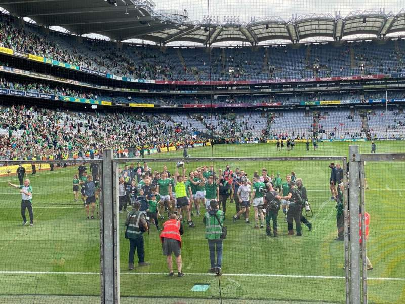 Seating view for Croke Park Section B3 Row F