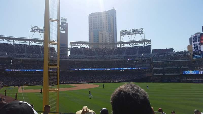 PETCO Park, section: 125, row: 33, seat: 18
