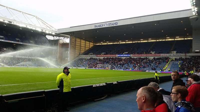 Seating view for Ibrox Park Section GF5 Row B Seat 159