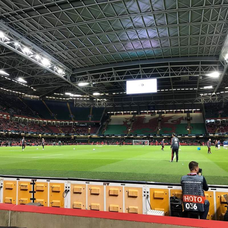 Seating view for Principality Stadium Section L18 Row 5 Seat 13