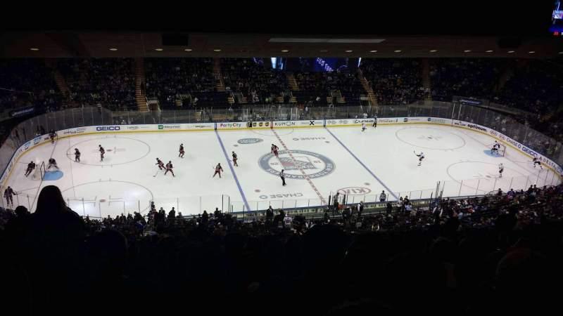 Madison Square Garden: Madison Square Garden, Section 210, Row 22, Seat 1