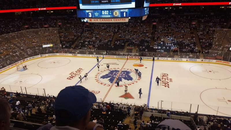 Scotiabank Arena Section 320 Row 2 Toronto Maple Leafs