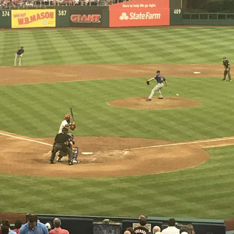 Citizens Bank Park, section: 122, row: 30, seat: 17