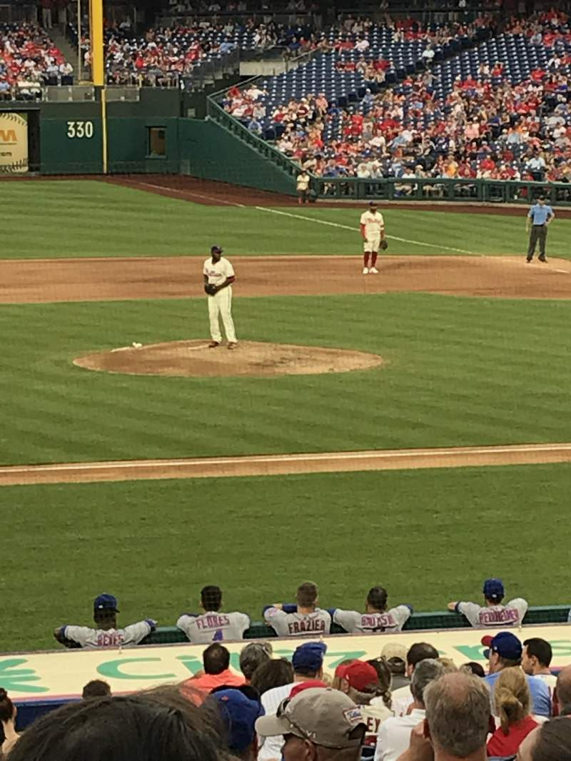 Citizens Bank Park, section: 131, row: 25, seat: 6