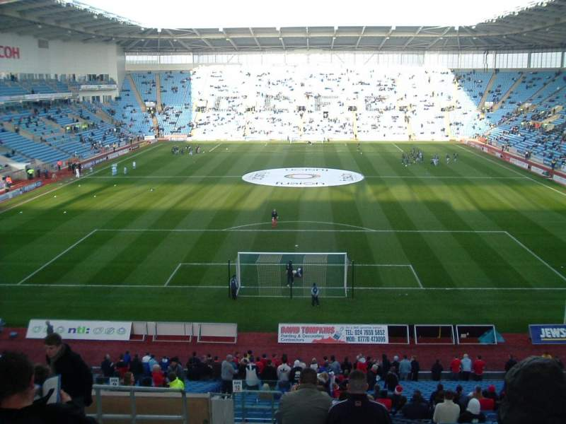 Seating view for Ricoh Arena Section 10 Row NN Seat 24