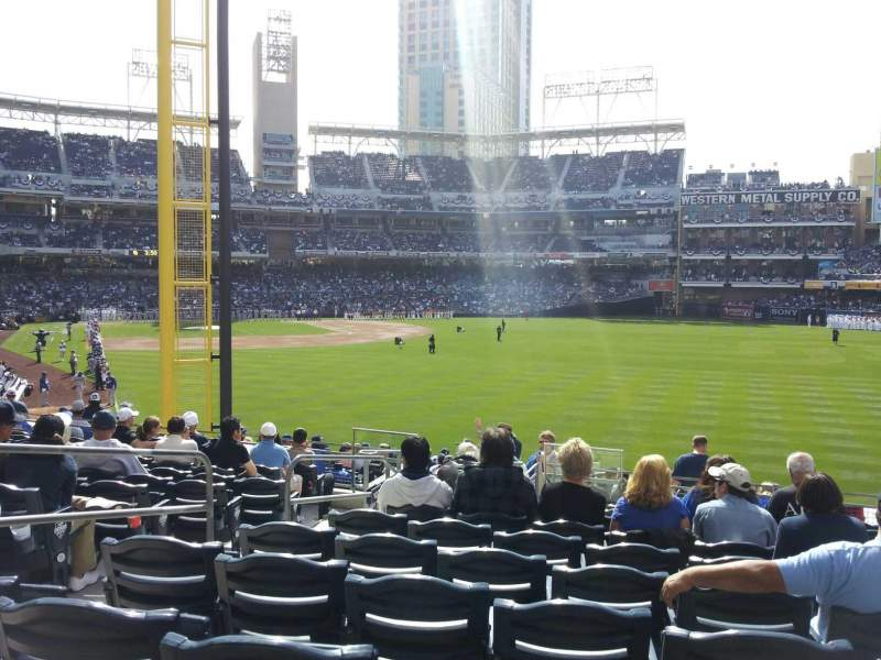 PETCO Park, section: 125, row: 35, seat: 5