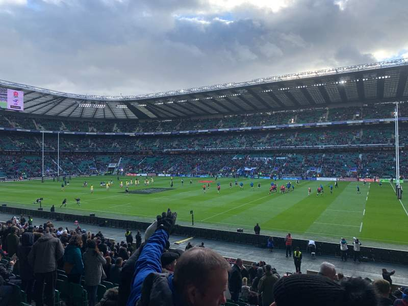 Seating view for Twickenham Stadium Section L22 Row 27 Seat 108