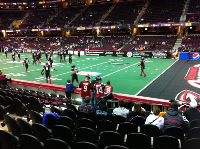 Seating view for Quicken Loans Arena Section 131 Row 12 Seat 6
