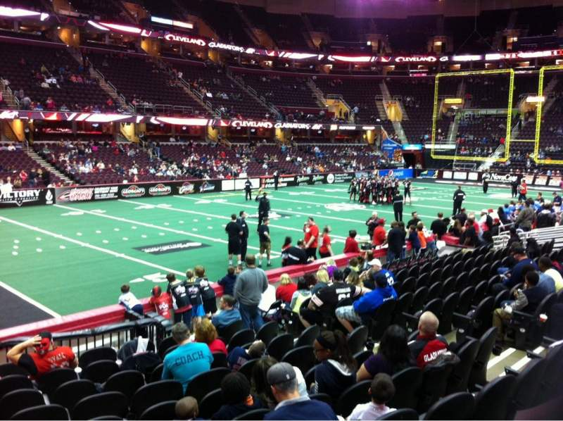 Quicken Loans Arena, section: 125, row: 14, seat: 10